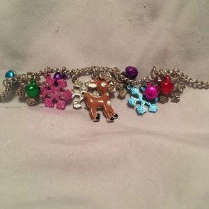 Rudolph charm bracelet